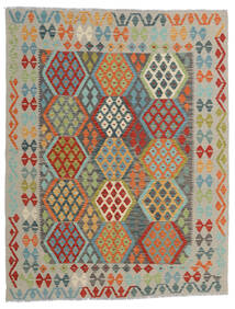 Kilim Afghan Old Style Tappeto 152X197 Orientale Tessuto A Mano Grigio Chiaro/Blu Turchese (Lana, Afghanistan)