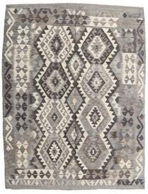 Kilim Afghan Old Style Tappeto 155X200 Orientale Tessuto A Mano Grigio Chiaro/Grigio Scuro (Lana, Afghanistan)