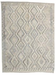 Kilim Afghan Old Style Tappeto 154X203 Orientale Tessuto A Mano Grigio Chiaro/Beige Scuro (Lana, Afghanistan)