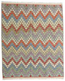 Kilim Afghan Old Style Tappeto 155X187 Orientale Tessuto A Mano Grigio Chiaro/Verde Oliva (Lana, Afghanistan)