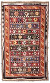 Kilim Vintage Tappeto 162X270 Orientale Tessuto A Mano Rosso Scuro/Marrone Scuro (Lana, Persia/Iran)