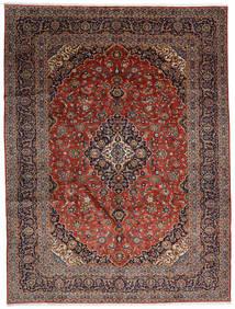 Keshan Tappeto 300X392 Orientale Fatto A Mano Marrone Scuro/Rosso Scuro Grandi (Lana, Persia/Iran)