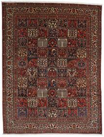 Bakhtiar Tappeto 298X390 Orientale Fatto A Mano Marrone Scuro/Rosso Scuro Grandi (Lana, Persia/Iran)