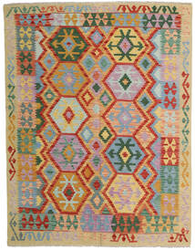 Kilim Afghan Old Style Tappeto 152X198 Orientale Tessuto A Mano Grigio Chiaro/Rosso (Lana, Afghanistan)