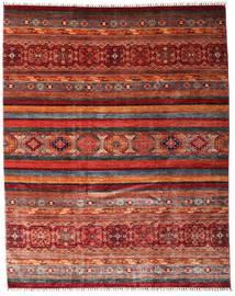 Sharbargan Tappeto 242X301 Moderno Fatto A Mano Rosso Scuro/Grigio Scuro (Lana, Afghanistan)
