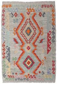 Kilim Afghan Old Style Tappeto 103X148 Orientale Tessuto A Mano Grigio Chiaro (Lana, Afghanistan)
