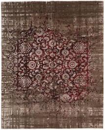 Damask Collection Tappeto 239X302 Moderno Fatto A Mano Marrone Scuro/Marrone ( India)
