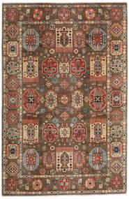 Kazak Tappeto 197X299 Orientale Fatto A Mano Marrone Chiaro/Marrone Scuro (Lana, Afghanistan)