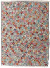 Kilim Afghan Old Style Tappeto 87X117 Orientale Tessuto A Mano Grigio Chiaro/Grigio Scuro (Lana, Afghanistan)