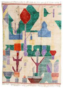 Berber Moroccan - Mid Atlas Tappeto 252X340 Moderno Fatto A Mano Beige/Grigio Chiaro Grandi (Lana, Marocco)