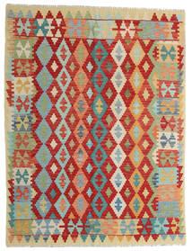 Kilim Afghan Old Style Tappeto 152X200 Orientale Tessuto A Mano Beige Scuro/Grigio Chiaro (Lana, Afghanistan)