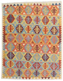 Kilim Afghan Old Style Tappeto 157X202 Orientale Tessuto A Mano Beige Scuro/Azzurro (Lana, Afghanistan)