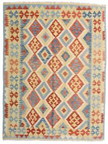Kilim Afghan Old Style Tappeto 153X205 Orientale Tessuto A Mano Beige/Beige Scuro (Lana, Afghanistan)