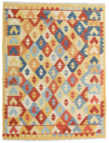 Kilim Afghan Old Style Tappeto 150X198 Orientale Tessuto A Mano Beige Scuro/Beige/Rosso (Lana, Afghanistan)