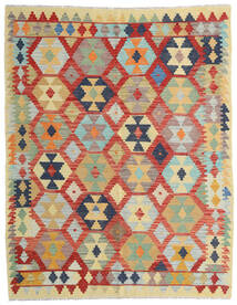 Kilim Afghan Old Style Tappeto 158X200 Orientale Tessuto A Mano Beige Scuro/Rosso Scuro (Lana, Afghanistan)