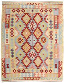 Kilim Afghan Old Style Tappeto 157X194 Orientale Tessuto A Mano Beige Scuro/Grigio Chiaro (Lana, Afghanistan)