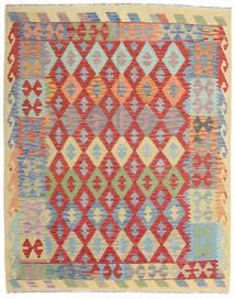 Kilim Afghan Old Style Tappeto 161X201 Orientale Tessuto A Mano Grigio Chiaro/Ruggine/Rosso (Lana, Afghanistan)