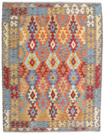 Kilim Afghan Old Style Tappeto 154X198 Orientale Tessuto A Mano Beige Scuro/Grigio Chiaro (Lana, Afghanistan)