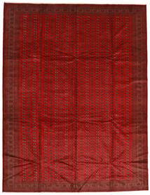 Turkaman Tappeto 302X388 Orientale Fatto A Mano Ruggine/Rosso/Rosso Scuro Grandi (Lana, Persia/Iran)