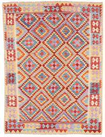 Kilim Afghan Old Style Tappeto 179X240 Orientale Tessuto A Mano Violet Clair/Marrone Chiaro (Lana, Afghanistan)