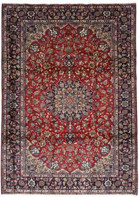 Najafabad Tappeto 251X348 Orientale Fatto A Mano Rosso Scuro/Marrone Scuro Grandi (Lana, Persia/Iran)
