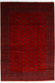 Pakistan Bukara 3Ply Tappeto 246X358 Orientale Fatto A Mano Rosso Scuro/Rosso/Marrone Scuro (Lana, Pakistan)