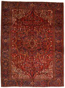 Heriz Tappeto 302X403 Orientale Fatto A Mano Rosso Scuro/Marrone Scuro Grandi (Lana, Persia/Iran)