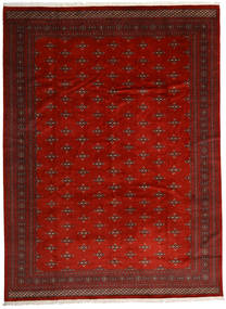 Pakistan Bukara 2Ply Tappeto 303X408 Orientale Fatto A Mano Rosso Scuro/Ruggine/Rosso Grandi (Lana, Pakistan)