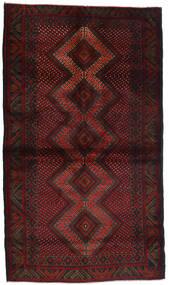 Beluch Tappeto 110X190 Orientale Fatto A Mano Marrone Scuro/Rosso Scuro (Lana, Afghanistan)