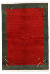 Gabbeh Indo Tappeto 170X238 Moderno Fatto A Mano Ruggine/Rosso/Verde Scuro (Lana, India)