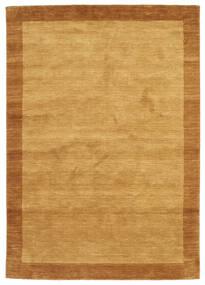 Handloom Frame - D'oro Tappeto 160X230 Moderno Marrone Chiaro/Marrone (Lana, India)