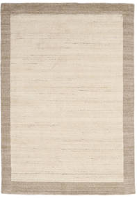 Handloom Frame - Natural/Sand Tappeto 160X230 Moderno Beige/Grigio Chiaro (Lana, India)