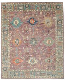 Usak Design Tappeto 241X302 Moderno Fatto A Mano Rosso Scuro/Marrone (Lana, Afghanistan)