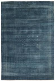 Gabbeh Loribaft Tappeto 192X278 Moderno Fatto A Mano Nero/Blu Scuro (Lana, India)