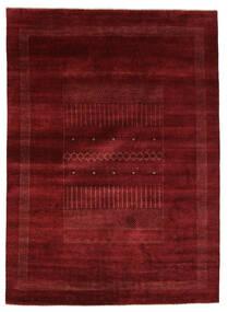 Gabbeh Loribaft Tappeto 205X284 Moderno Fatto A Mano Nero/Beige (Lana, India)
